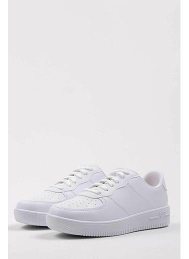 Oksit Mario Air Bağcıklı Erkek Sneaker Beyaz